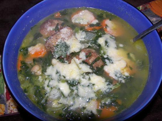 Italian Meatball Soup Rapido Recipes — Dishmaps