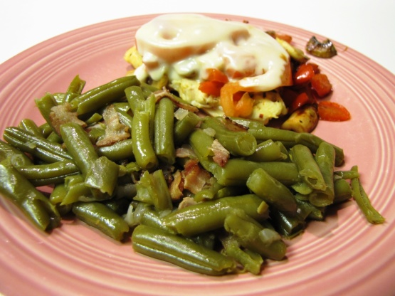 Southern Green Beans And Bacon RecipeFood.com