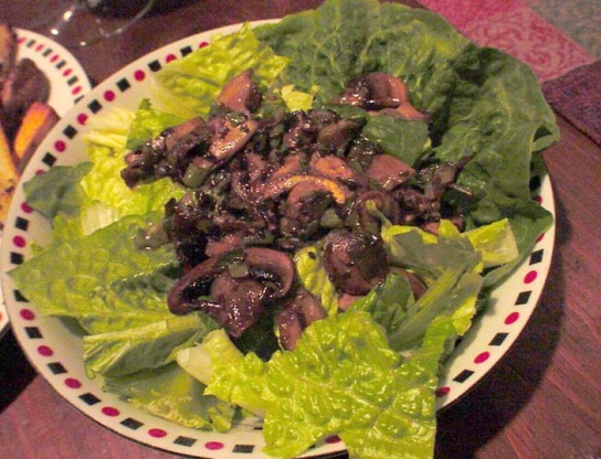 Warm Mushroom Salad Recipe - Food.com
