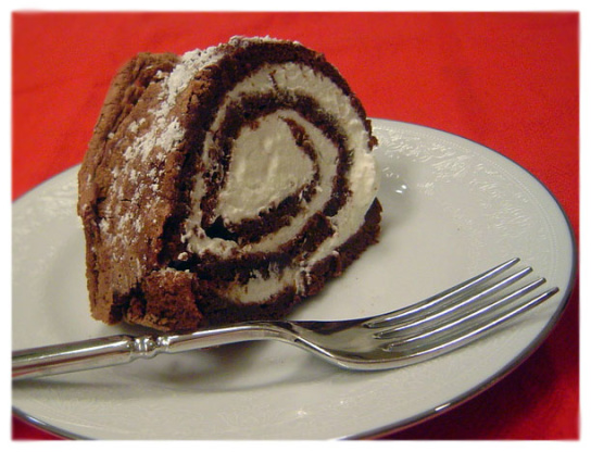 Lighter-Than-Air Chocolate Roll Recipe — Dishmaps