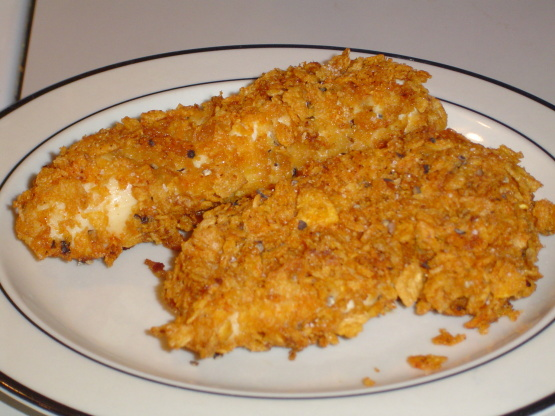corn flake crusted chicken i chicken baked in cornflake cornflake ...