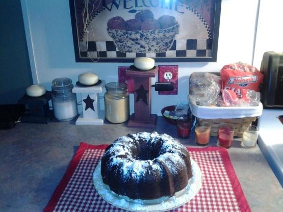 Egyptian Chocolate Chip Pumpkin Cake