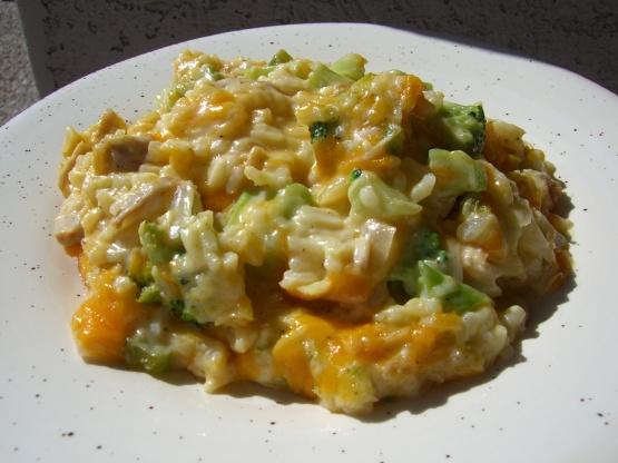 Moms Cheesy Broccoli Rice Casserole Recipe - Food.com