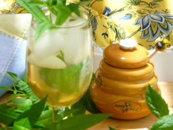 ... infusion is one they apparently drink this drink indoors leaf lemon