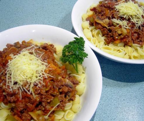 traditional spaghetti bolognese recipe genius kitchen. Black Bedroom Furniture Sets. Home Design Ideas