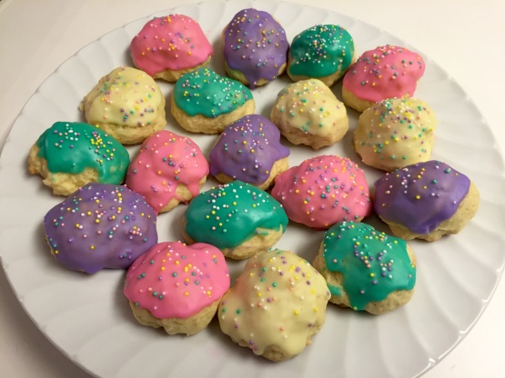 how to make italian cookies with icing