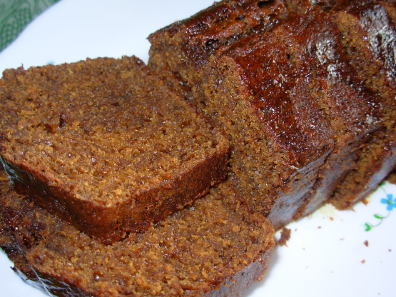 to the cake summer squash gingerbread loaf sticky ginger loaf the ...