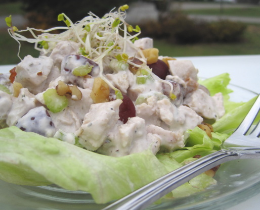 Barefoot Contessas Chicken Salad Veronique Recipe Genius