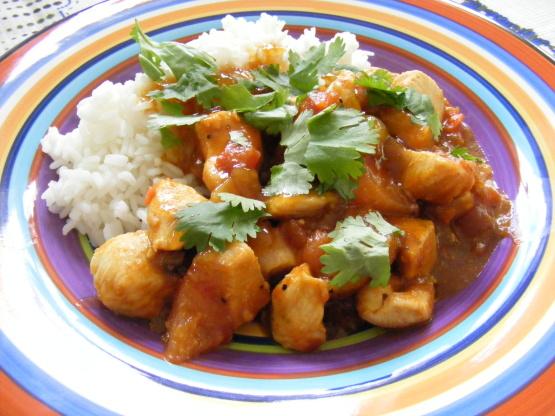 Chicken Curry With Mango Chutney Recipe - Genius Kitchen