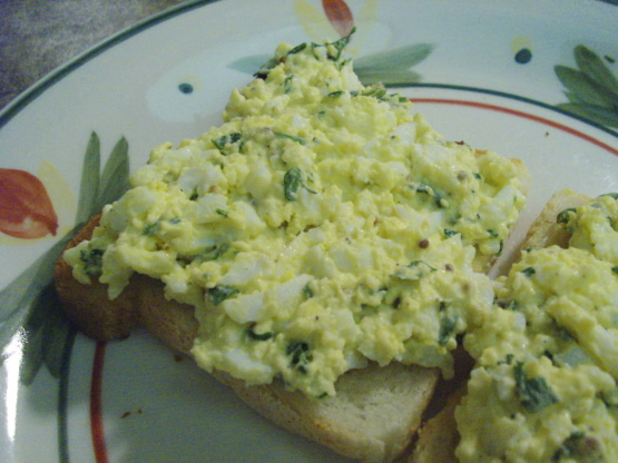 Knife And Fork Egg Salad Sandwiches With Chives Recipe - Food.com