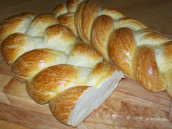 Janes challah bread using food processor recipe genius kitchen - Kitchenaid challah ...