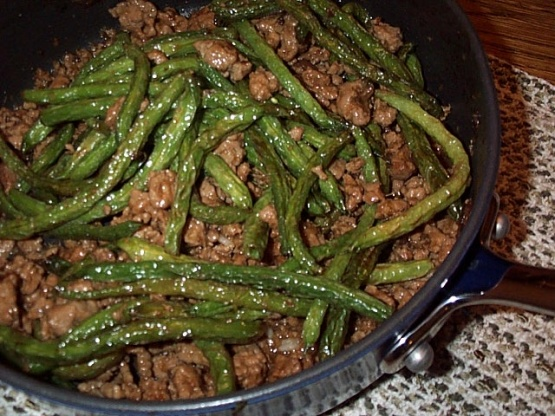 chicken with string beans recipe chinese