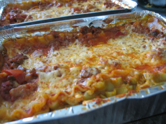 Tried And True Lasagna Recipe Genius Kitchen