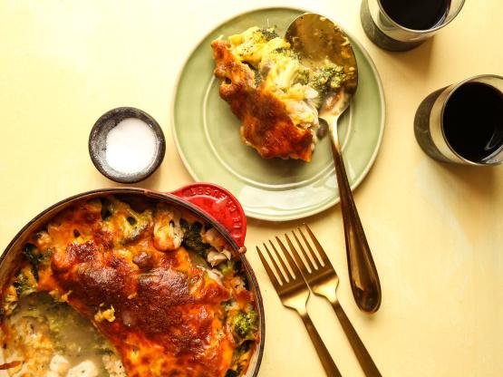 Thanksgiving leftover turkey divan recipe genius kitchen for Turkey divan