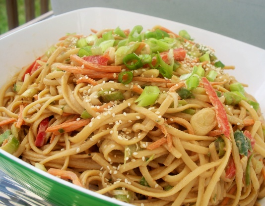 Cold Peanut Noodles RecipeFood.com
