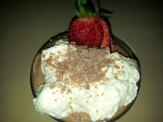 Easiest Ever Chocolate Mousse With Lemon Cream Recipe - Food.com