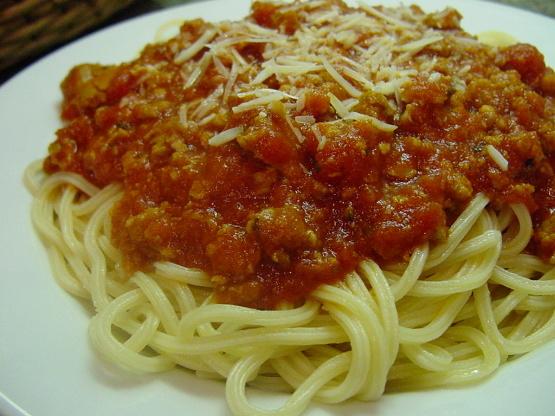 Image Gallery spaghetti recipe