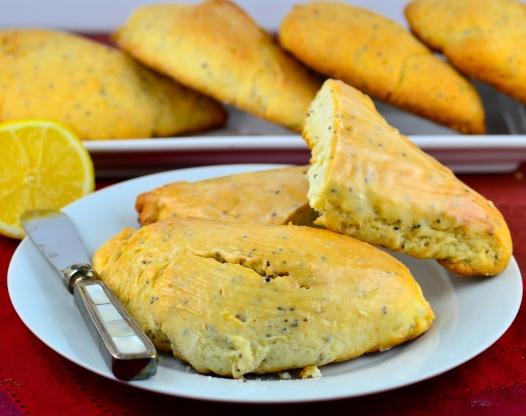Lemon Poppy Seed Scones Recipe - Food.com