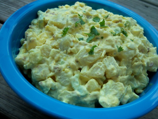 Caribbean Salads Ready To Go: Jamaican Jerk Potato Salad Recipe