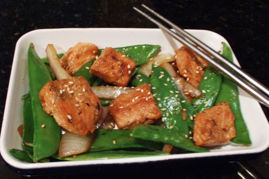 Stir-fry salmon recipes