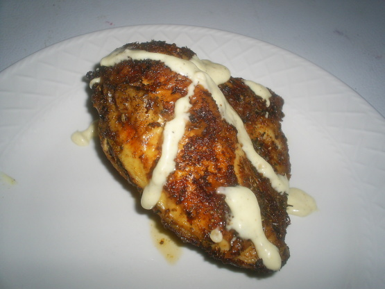 Grilled Chicken With White Barbecue Sauce Recipe - Genius ...