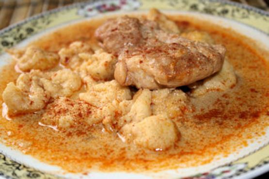 recipe: authentic chicken paprikash [17]