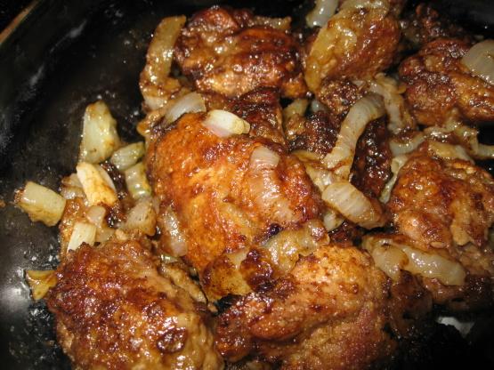 Italian chicken liver recipe