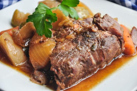Crockpot Roast And Gravy >> Slow Cooker Pot Roast Recipe - Food.com