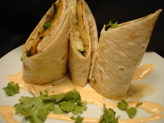... Tortilla Roll With Roasted Jalapeno Mayonnaise Recipe - Food.com