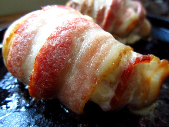 chicken ballotine wrapped in bacon recipe