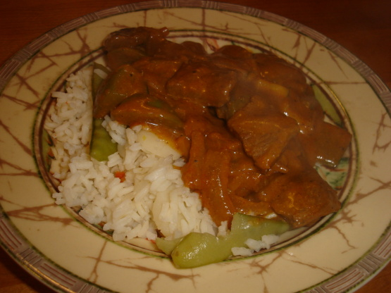 East Indian-Style Spiced Beef With Rice Recipe - Genius ...