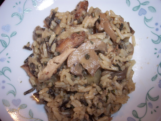 how to make chicken and rice casserole
