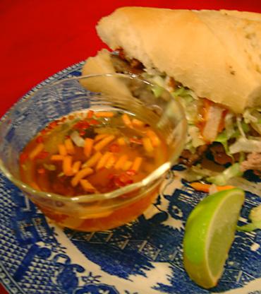 Nuoc cham vietnamese spicy fish sauce recipe genius kitchen for Vietnamese fish sauce recipe
