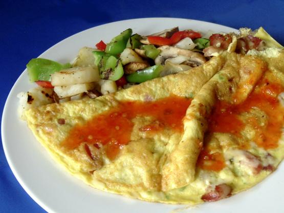 Southwestern Omelet Recipe - Breakfast.Genius Kitchen