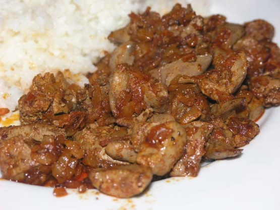 Grilled chicken livers recipe easy