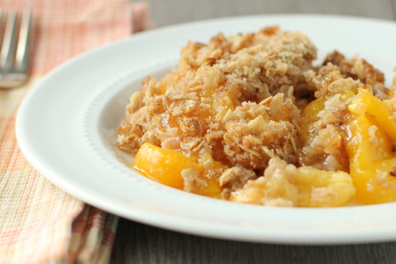 Easy peach crisp recipes food network