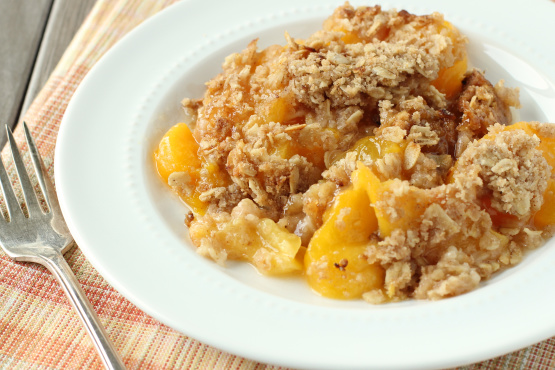 Peach Crisp Recipe - Genius Kitchen