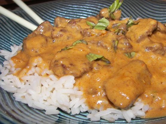 Easy beef curry recipe coconut milk
