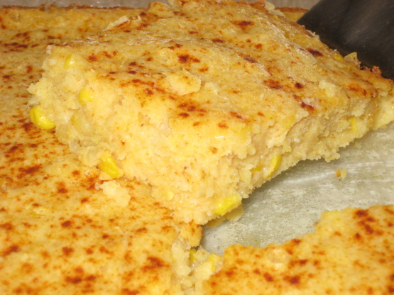 Fannie Flagg corn casserole recipe
