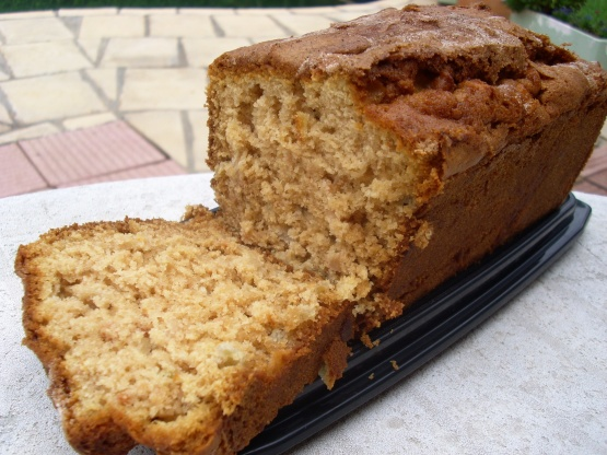 Food Recipes Apple Cinnamon Loaf