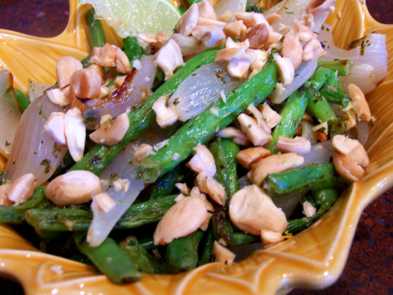 Lime-Roasted Green Beans With Marcona Almonds Recipe - Food.com