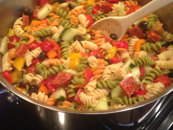 Recipes for homemade pasta salad
