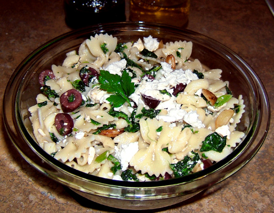 Spinach and feta recipes pasta