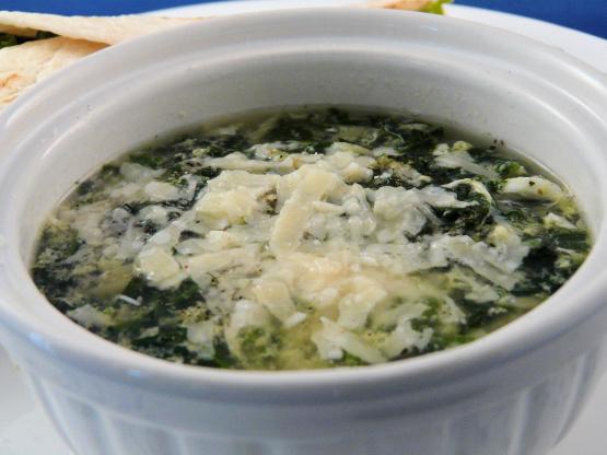 Spinach Stracciatella Soup With Orzo Recipes — Dishmaps
