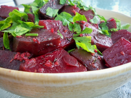Crock Pot Thyme Roasted Beets Recipe Genius Kitchen