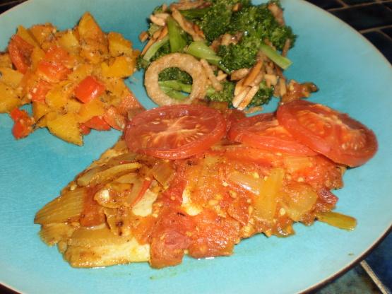 Greek baked fish recipe genius kitchen for Greek fish recipes
