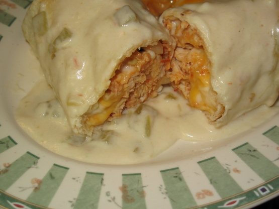 cream cheese baked chicken chimichangas recipe