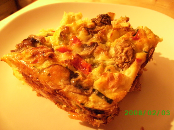 Crustless quiche slimming world Slimming world recipes for 1 person