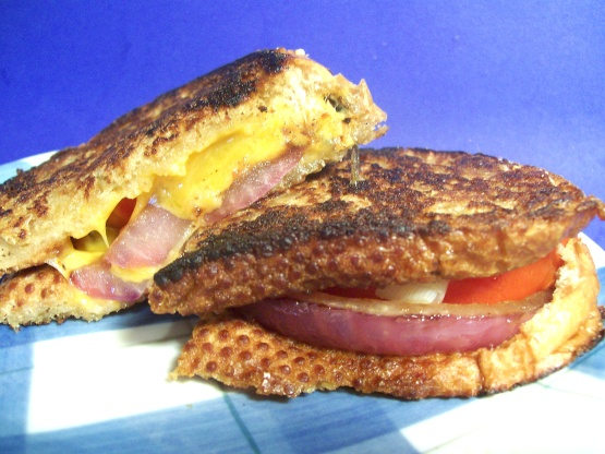 Grilled Cheese And Tomato Sandwich Recipe - Food.com