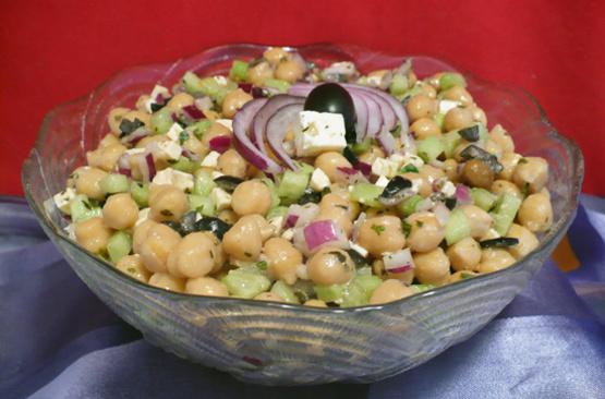 Greek-Style Chickpea Salad Recipes — Dishmaps